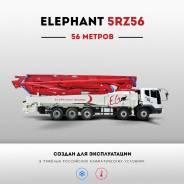 Elephant. Бетононасос 56 метров, на шасси MAN, 2016 г., 56 м. Под заказ
