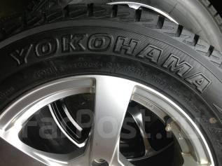 Yokohama Geolandar I/T. Зимние, без шипов, 2009 год, износ: 5%, 4 шт