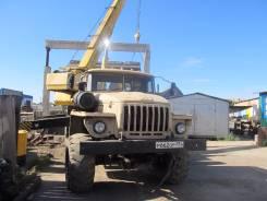 Урал 5557. Продаётся автокран УРАЛ 555, 2 700 куб. см., 14 000 кг., 14 м.