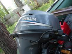Yamaha. 15,00л.с., 4х тактный, бензин, нога S (381 мм), Год: 2009 год