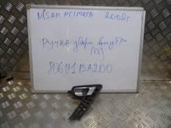 Ручка двери внутренняя. Nissan Primera, P12 Двигатели: QG16DE, YD22DDT, QR20DE, QG18DE, F9Q