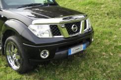 Дефлектор капота. Nissan Navara, D40, R51 Nissan Pathfinder, R51