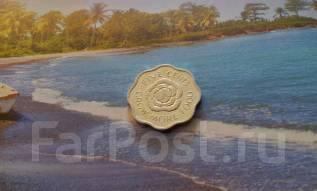 Экзотика! Сейшелы. 5 центов 1975 года. Интересная форма.