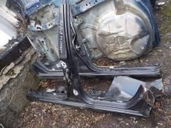 Порог пластиковый. Chevrolet Lanos