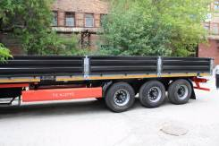 Техомs. Бортовой полуприцеп пневматическая подвеска от завода производителя, 30 000 кг.
