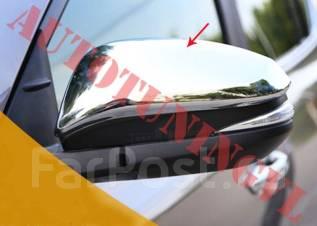 Накладка на зеркало. Toyota RAV4, ALA49, ALA49L, ASA42, ASA44, ASA44L, QEA42, XA40, ZSA42, ZSA42L, ZSA44, ZSA44L Двигатели: 2ADFTV, 2ARFE, 3ZRFE