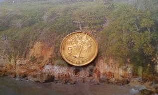 Экзотика! Сейшелы. 5 центов 2010 года. Флора.