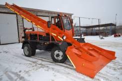 Кургандормаш. Cнегопогрузчик лаповый КЗДМ-206 с гидравлическим приводом, 4 300 куб. см.