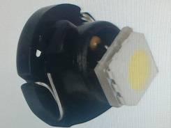 Лампа т3 t3 white led светодиодная, smd 3528, белая, в панель приборов