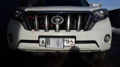 Молдинг решетки радиатора. Toyota Land Cruiser Prado, KDJ150L, GDJ150L, GDJ151W, GRJ150W, GDJ150W, TRJ12, GRJ151W, TRJ150W, GRJ150L Двигатели: 1KDFTV...