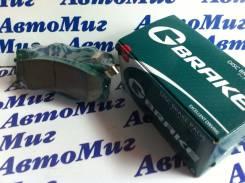 Тормозные дисковые колодки 605 G-brake GP-01231 PF2444 D10601BN0A, 410600023R, D10601MF0A, D10605X00A, 41060CC090, D1060EJ20A, D10601NC0A, DA060EB325...