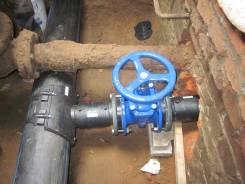 Монтаж канализационных труб.