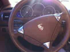 Руль. Porsche Cayenne