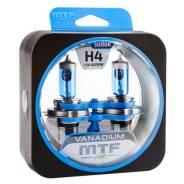 Набор галогенных ламп MTF Н4 12V 60/55w Vanadium (2 шт.)