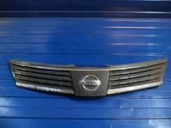 Решетка радиатора. Nissan Tiida Двигатели: HR16DE, MR18DE