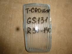 Стекло противотуманной фары. Toyota Crown, GS131 Двигатель 1GFE