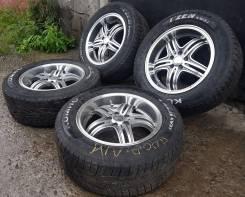 Комплект почти новых 16 колес 5х100 на резине 215х60х16. Полка. 7.0x16 5x100.00 ET40