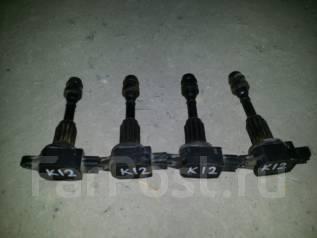 Катушка зажигания. Nissan: Cube, AD Expert, Micra, March, AD, Cube Cubic, Micra C+C, Note Двигатели: CR14DE, CR12DE, CG12DE, CG10DE, CGA3DE, CR10DE