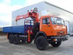 Камаз-43118 с КМУ Kanglim KS1256GII. 11 762 куб. см.
