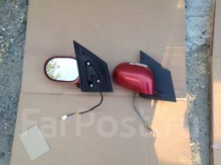 Зеркало заднего вида боковое. Nissan Note, E11E, E11