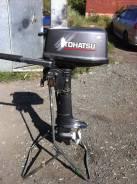 Tohatsu. 5,00л.с., 2х тактный, бензин, нога S (381 мм)