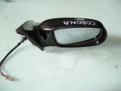 Зеркало заднего вида боковое. Toyota Corona, CT190 Двигатель 2C