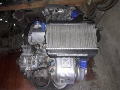 Двигатель в сборе. Toyota Caldina, ST215W Двигатель 3SGTE