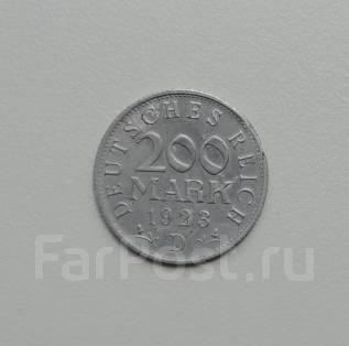 200 марок. Веймар 1923D