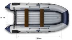 Флагман. Год: 2016 год, длина 360,00м., двигатель подвесной, 20,00л.с.