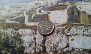 Мальта. 2 цента 2002 года. Флора.