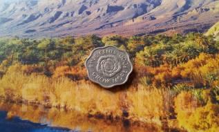 Экзотика! Сейшелы. 5 центов 1972 года. Оригинальная форма монетки.