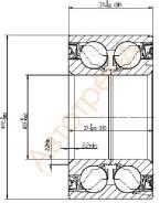 Подшипник ступицы Nissan Cube, March, Note (F0044882) BNZ11