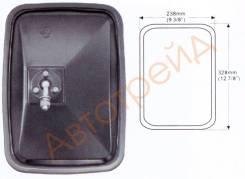 Зеркало заднего вида HYUNDAI/DAEWOO крепление болт (328x238mm) SAT SL-758B