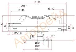 Вискомуфта NISSAN PATROL / SAFARI TD42T