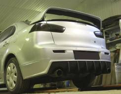 Обвес кузова аэродинамический. Mitsubishi Lancer X. Под заказ