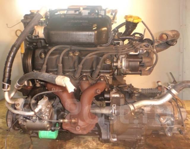 Двигатель в сборе. Subaru: R2, Pleo, Sambar, Vivio, Rex, Stella, R1, Sambar Truck Двигатель EN07. Под заказ