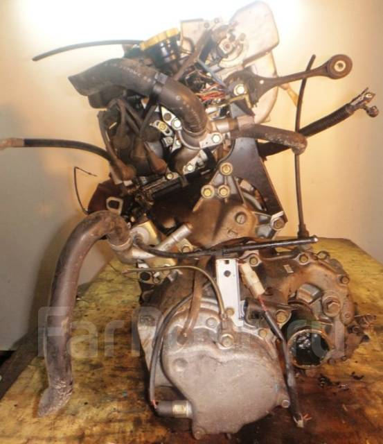 Двигатель в сборе. Subaru: R1, Sambar Truck, Stella, Sambar, R2, Vivio, Rex, Pleo Двигатель EN07. Под заказ
