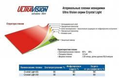 Плёнка тонировочная Ultra Vision Crystal Light 85, защита от инфракрасного излучения 60%.