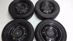 Диски + резина (на докатку)215/60. R16 Bridgestone B-style RV. 4x100.00 ET38