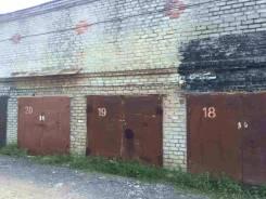 Гаражи капитальные. ГСК 387 переулок Черепичный, р-н Индустриальный, 18 кв.м., электричество. Вид снаружи