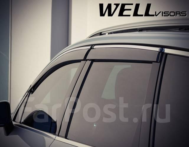 Ветровик на дверь. Volkswagen Touareg, 7P5 Двигатели: CASA, CASD, CGEA, CGFA, CGNA, CGRA, CJGD, CJMA, CKDA, CMTA, CNRB, CRCA