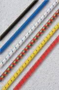 Резинка (эластичный шнур) 4 мм желтая (раст. 100%)