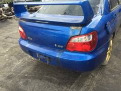 Крышка багажника. Subaru Impreza WRX STI, GDB Subaru Impreza, GD, GD9, GD3, GD2, GDD, GDC, GDB, GDA Двигатели: EJ207, EJ20, EJ15, EL15, EJ205, EJ204...