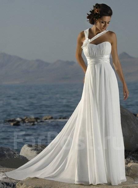 Свадебное платье в греческом стиле - Свадебные платья 928468232290f