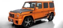 Обвес кузова аэродинамический. Mercedes-Benz G-Class, W463 Двигатели: M, 273, KE55, OM, 642, DE, 30, LA, 113, E, 55, ML, KE. Под заказ