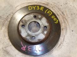 Диск тормозной. Mazda Demio, DY3R