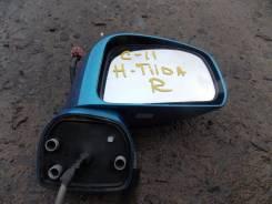Зеркало заднего вида боковое. Nissan Tiida, C11