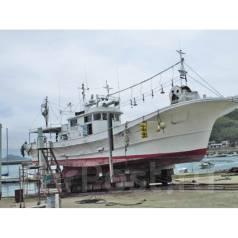 Шхуна рыболовная 19 м в металлическом корпусе из Японии. Год: 1991 год, длина 19,60м., двигатель стационарный, 500,00л.с., дизель. Под заказ