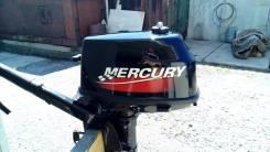 Mercury. 5,00л.с., 2х тактный, бензин, нога S (381 мм), Год: 2008 год