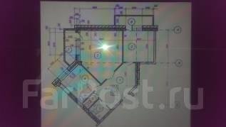 2-комнатная, улица Крестьянская 179. ж.д. Вокзала, агентство, 70 кв.м. План квартиры